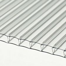 10 pc 2ft x 2ft x 4mm Greenhouse Twinwall Polycarbonate, Glass Replacement