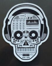 Candy sugar skull music headphones Sticker tablet laptop guitar 056