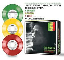 "BOB MARLEY THE EARLY YEARS COLLECTION, 12 EXCLUSIVE 7"" SINGLES + GIANT POSTER"