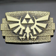 Retro Gold Nintendo The Legend of Zelda Twilight Princess Triforce Belt Buckle