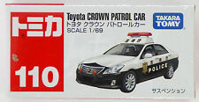 Tomy Tomica 110 TOYOTA CROWN PATROL CAR (POLICE) 1/69 scale