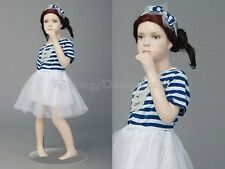 Fiberglass Kid Children Cute Abstract Mannequin Manikin Dress Form Display #ITA1