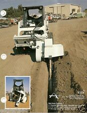 Equipment Brochure - American Trencher Skid Steer Hoe Attachment - 4 item (E2548