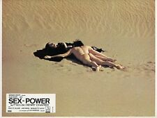 ALAIN NOURY JULIETTE VILLARD SEX-POWER 1970 VINTAGE PHOTO LOBBY CARD N°6