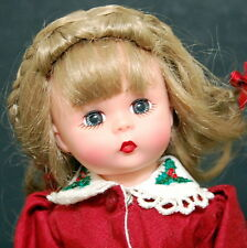 "Madame Alexander 8"" Holiday Jubilee #40360 Doll Christmas"