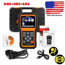 For GM,Ford ABS Airbag SAS Sensor Reset OBD2 Code Reader Scanner Diagnostic Tool