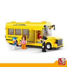 Juguete Educativo de Construccion SLUBAN Bus Escolar 291PZS - M38-B0507