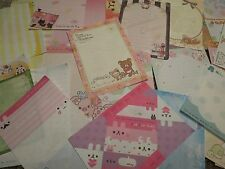 Kawaii San-X Crux Q-Lia Rilakkuma Piggy Girl Large Memo Sheets 25pcs Set [7]