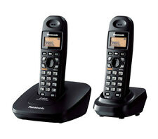 PANASONIC KX-TG3612 DUAL CORDLESS PHONE+3 WAY CONFERENCE+INTERCOM+SPEAKER PHONE