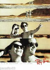 PUBLICITE ADVERTISING 116  1989   Les lunettes solaires Ray-Ban