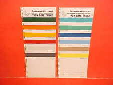 1959 GMC PICKUP TRUCK SUBURBAN PANEL STAKE FENDERSIDE WIDESIDE PAINT CHIPS SW