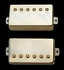 Guitar Part GUITARHEADS PICKUPS - ALNICO SUPREME PAF - HUMBUCKER SET 2 - GOLD