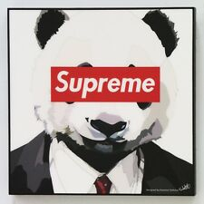 Supreme panda canvas quotes wall decals photo painting framed pop art poster