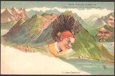 Suisse.  Surréalisme antropomorphisme. Killinger n° 107