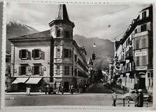 Cartolina Merano Via delle Corse VIAGGIATA Postcard