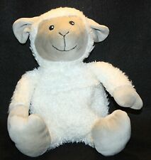 """Hot Hugs Plush Lamb Lovey Stuffed Animal Hot Pack Heating Pad 20"""" Baby Soother"""