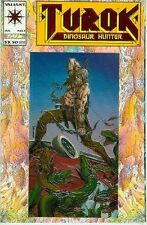 Turok, Dinosaur Hunter # 1 (chromuim & foil cover) (Valiant, USA, 1993)