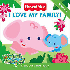 Fisher-Price Animals of the Rainforest - I Love My Family!: Touch and Feel Board