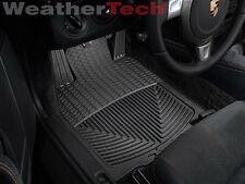 WeatherTech® All-Weather Floor Mats - Porsche® Cayman - 2005-2012 - Black