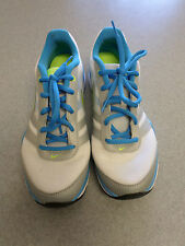 """Nike """"Total Core TR 2"""" white and gray, running shoes. Women's 9 (eur 40.5)"""