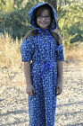 Girls Prairie/Pioneer Book Report Costume, Your Color Sz 14 Reduced Shipping!