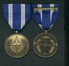 NATO Afghanistan Security Assistance medal with ribbon bar