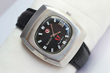 Vintage Rado Purple Horse Mens Stainless Steel Automatic # 34201946 Watch 59