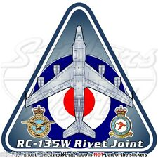 Boeing RC-135W Rivet Joint RAF Project Airseeker RC-135 Royal Air Force Sticker