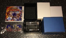 SONIC THE HEDGEHOG Toon 25th Anniversary CRYSTAL CUBE Famitsu Japan NEW 3DS last