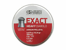 JSB EXACT HEAVY DIABOLO 4.52 mm .177 500 pcs. 0.670 g 10.34 gr Air rifle Pellets