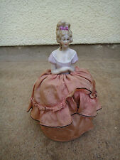 Lovely Antique Pincushion doll 7 5/8""
