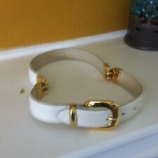 Croute De Cuir Irovy Leather belt Made in France.size 28/70