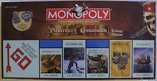 Disney's Pirates of the Caribbean Trilogy Edition Monopoly Board Game New Sealed