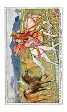 Andrew Lang Brown Fairy Book 127 Image 0001 A4 Photo Print