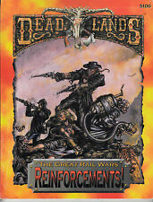 DEADLANDS - Reinforcements - The Great Rai Wars - Sourcebook RPG NEW ENG 5100