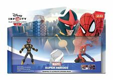 DISNEY INFINITY 2.0 SPIDER-MAN SPIDERMAN SET DA GIOCO PS4/PS3/Wii U/Xbox 360/One