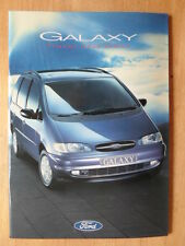 FORD GALAXY 1995 UK Mkt glossy prestige sales brochure - Aspen GLX Ghia Ultima