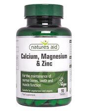Naturalezas ayuda de calcio y magnesio Zinc 90 Cápsulas