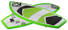 2015 Ronix Koal Thruster Wakesurf 4 Feet 7 Inches White/Green/Black - NEW BLEM
