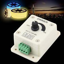 DC 12V 8A LED Light Protect Strip Dimmer Adjustable Brightness Controller