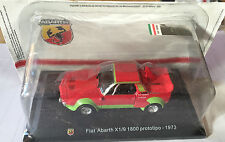 "DIE CAST "" FIAT ABARTH X 1/9 1800 PROTORIPO - 1973 "" + TECA  BOX 2 SCALA 1/43"