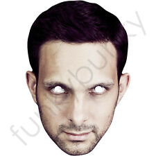 Dynamo Magician and Illusionist Celebrity Card Mask - All Our Masks Are Pre-Cut!