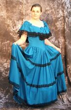Ladies Pantomime Costume Princess Fancy Dress Girls Victorian or Flamenco 36""