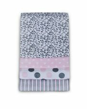 Carter's Baby Girl 4 Pack Wrap Me Up Receiving Blankets Pink Cheetah