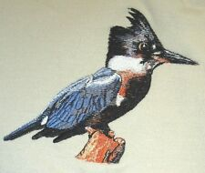 Embroidered Long-Sleeved T-Shirt - Kingfisher BT3901