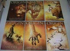 WOLVERINE: THE ORIGIN 1 2 3 4 5 6 Complete Series (Marvel) Origin of LOGAN (VF-)