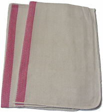 2 x LARGE HEAVY DUTY THICK 100% COTTON CHEFS OVEN CLOTHS - B GRADE MINOR FAULTS