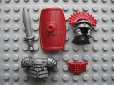 Custom ROMAN Legionary ARMOR & WEAPON PACK for Lego Minifigures Ancient Rome