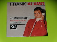 CD  SINGLE - FRANK ALAMO - ALLO MAILLOT 38 - 37  - 1964