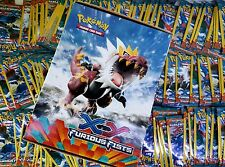 BEST Lot of (100) Pokemon XY FURIOUS FISTS BOOSTER PACK BOX 3-Card Booster Packs